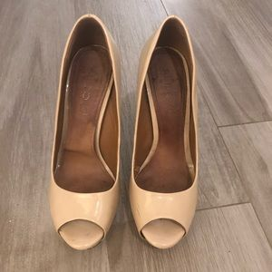 Aldo Nude Heels, size 9
